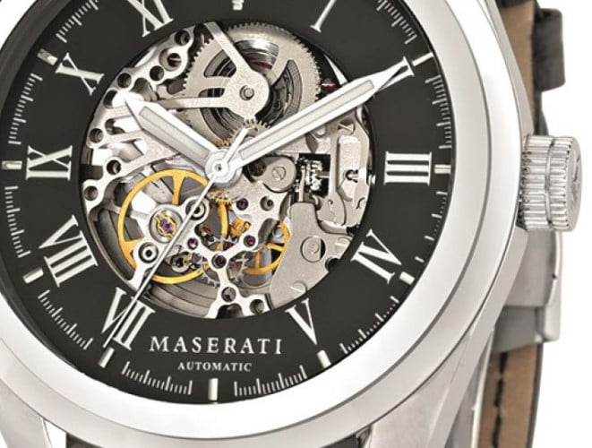 maserati time | horloge