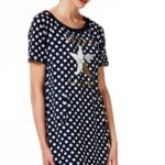 liu jo sport dress pois