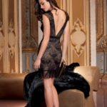 lise charmel kleed Dentelle-Design