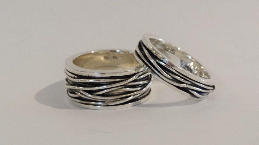 draadringen zilver