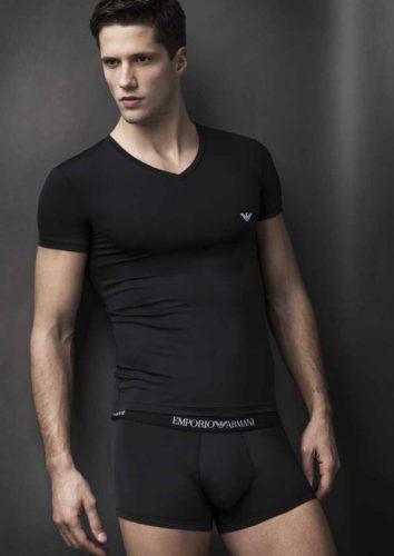 emporio armani microfibre underwear