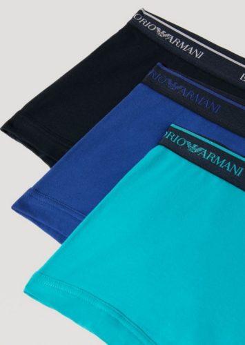 short 3 pack blue
