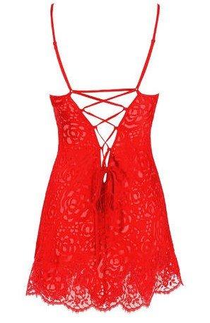 back babydoll-lise-charmel-dressing-floral-rood
