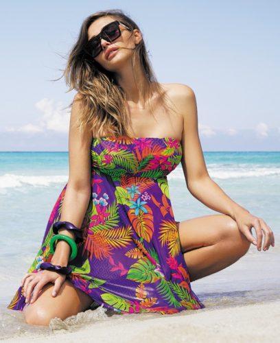 antigel badmode strandjurkje robe de plage la decouvreuse