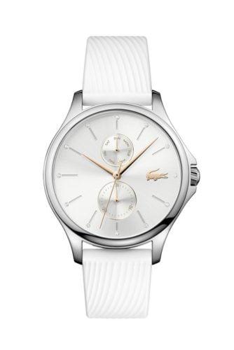 lacoste dames horloge kea wit lc2001023 amfora sluis