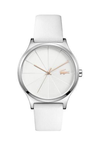 lacoste dames horloge nikita wit lc2001040