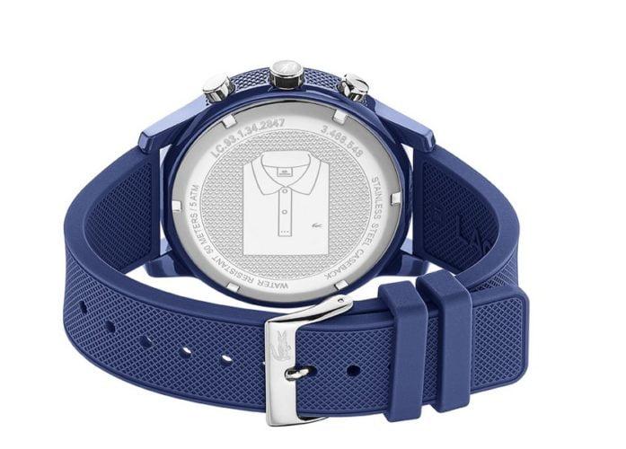 lacoste heren horloge 12.12 blauw lc2010970