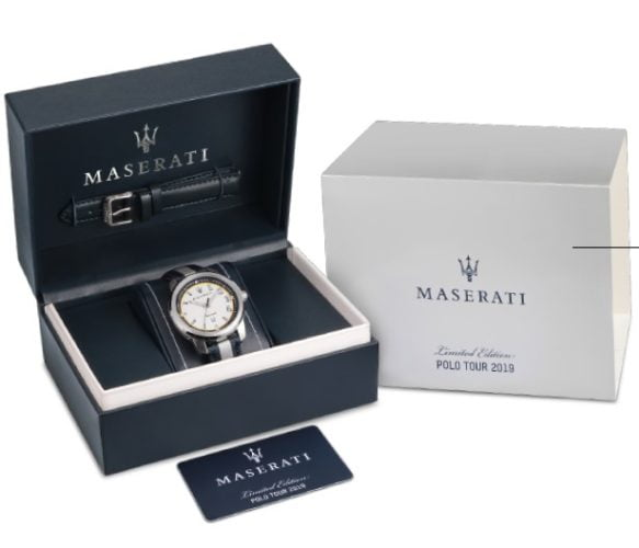 MASERATI LIMETED EDITION HORLOGE ROYALE