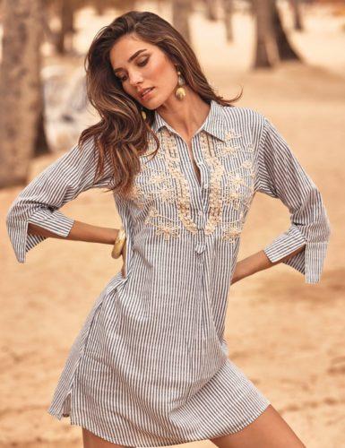 iconique beachwear sandra blouse lingeriemission.nl