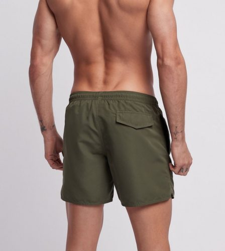 armani zwemshorts 9p427 military green