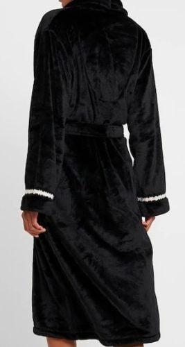 back badjas zwart dkny