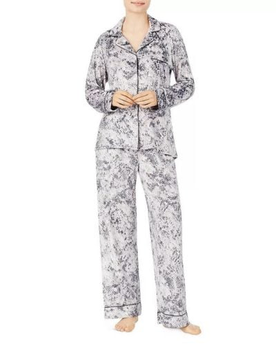 donna karan fleece pyjama