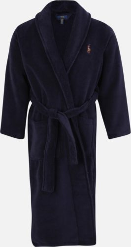 polo ralph lauren badpajs navy blue shawl robe
