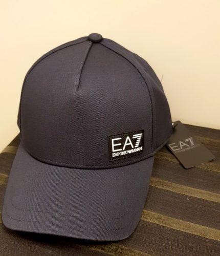ea7 cap dark blue ss2020
