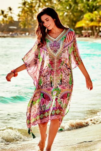iconique lange kaftan