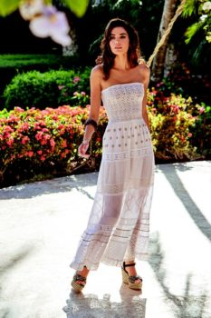 iconique strapless dress