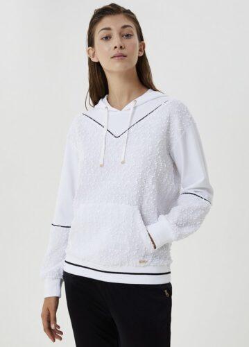 LIU JO Sportswear-Sport sweatshirts-TF0146 amfora bodyfashion sluis