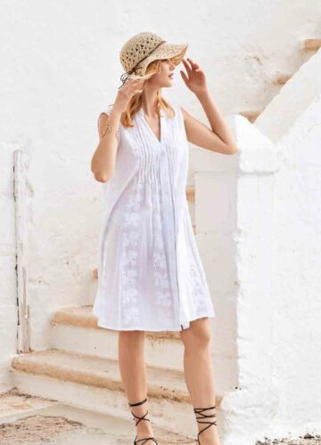 mICOL DRESS IC21-003 SUMMER PARTY DRESS WIT